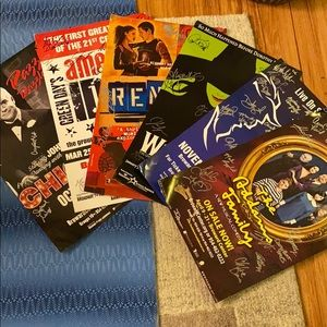 Signed Broadway National Tour Posters. Set of 6.